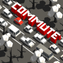 通勤:拥挤的交通