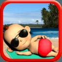 我的宝贝:Babsy在海滩3D