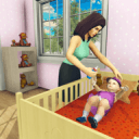 Virtual Mother simulator: Mom Happy Family Games
