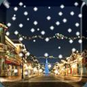 Snow Night Live Wallpaper PRO
