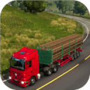 木材货物运输车3D