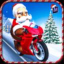 疯狂的圣诞老人Moto礼物交付