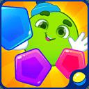 学习孩子的形状和颜色:孩子们的游戏