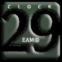 29样式桌面时钟插件