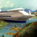 Tourist Transport Ship Game 3D