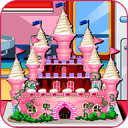 公主城堡蛋糕烹饪