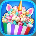 Unicorn Food - Rainbow Popcorn Party