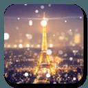 巴黎埃菲尔铁塔之夜动态壁纸