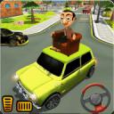 先生 波安 汽车 城市 冒险 -  游戏 为 开玩笑