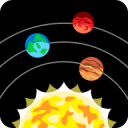三維太陽系模型:Solar