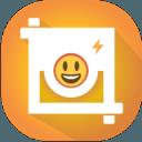 Square Emoji Sticker - Photo