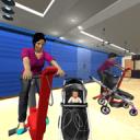 名人妈妈健身生活