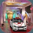 豪华 市 豪华轿车 婚礼 汽车