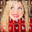 照片的背景键盘
