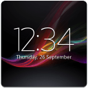 Digital clock Xperia™ NXT