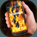 火手機的屏幕