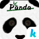 Panda Kika Keyboard Theme