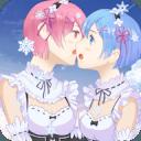 Anime Avatar Maker: Kissing Couple