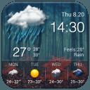 天氣預報桌面小工具,惡劣天氣警示,詳盡天氣資訊