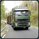 现代木货物运输车