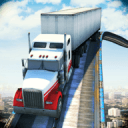 Impossible 18 Wheeler Truck Driving