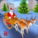 圣诞 礼品 冒险 - 圣诞老人 游戏