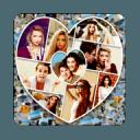 Photo Collage Shape Mixer