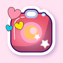 Kawaii Photo Editor: Deco Cute Stickers Filters