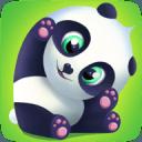 Pu 熊猫虚拟宠物和寵愛可爱游戏的孩子