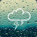 雷雨聲響起。雨聲睡覺。