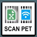 SCANPET= 条码扫描器 + 仓库库存 + 销售跟