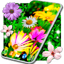 Flower Parallax Live Wallpaper