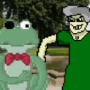 Froggy vs. Mother-in-law