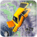 車禍測試模擬器3d:死亡飛躍