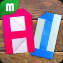アルファベット折り紙
