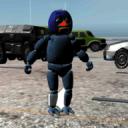 Parking Horror Jumpscare Animatronic