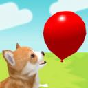 小狗与气球