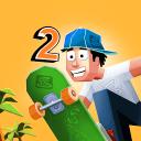 菲利玩滑板2