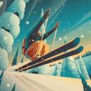 高山冒险:滑雪