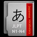 日语单词表JLPT 1-4级