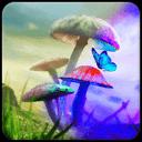 可爱蘑菇精灵主题解锁(桌面锁屏动态壁纸)