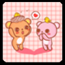 YOO桌面之想念熊情侣