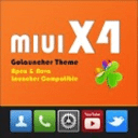 MIUI X4 Go Launcher Theme PRO