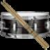 虚拟架子鼓 音樂 LOGO-阿達玩APP