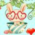 草莓兔桌面主题—魔秀 工具 App LOGO-APP試玩