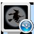 万圣节主题桌面(桌面主题美化锁屏软件) 工具 App LOGO-硬是要APP