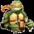 忍者神龟2 LOGO-APP點子