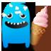 冰淇淋大战怪物 LOGO-APP點子