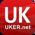 中英网UKER.net – 英国留学必备客户端! LOGO-APP點子