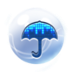 水晶之恋桌面主题—魔秀 工具 App LOGO-硬是要APP